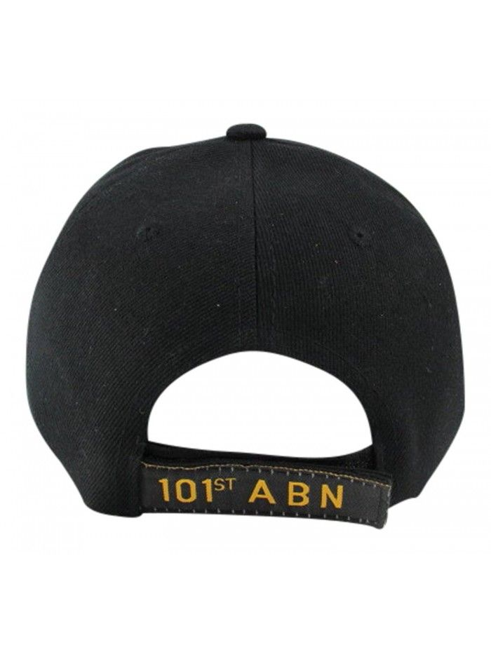 New 101st Airborne Division Vietnam Veteran- Black- One Size Fits ... cde509387feb