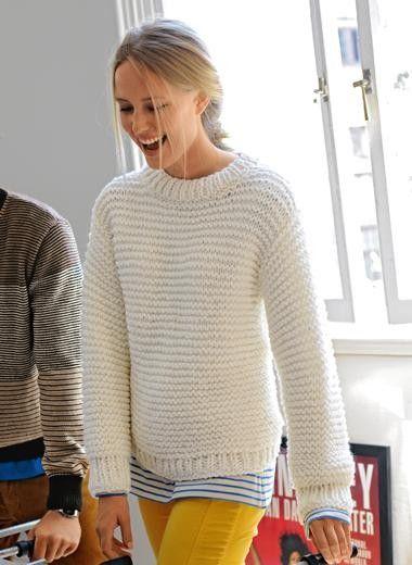 breipatroon trui beginners - Google zoeken