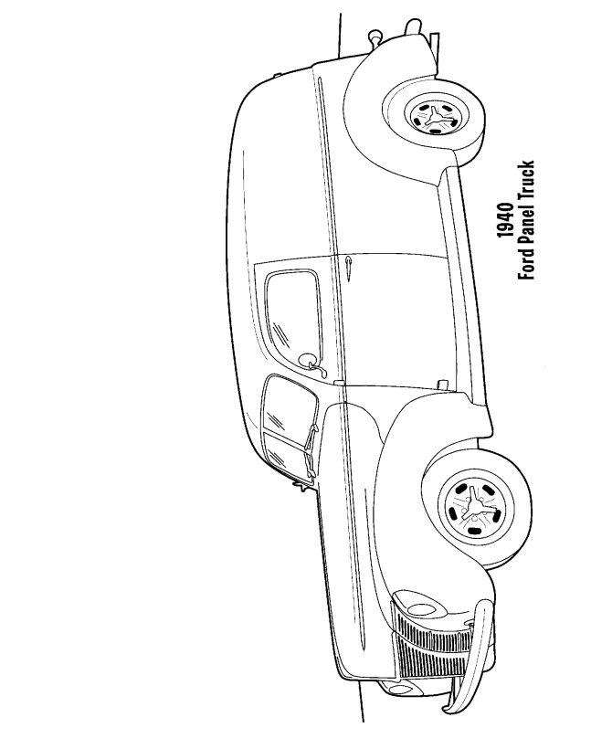 24 best panel truck images on Pinterest Panel truck, Cars and - copy lionel trains coloring pages