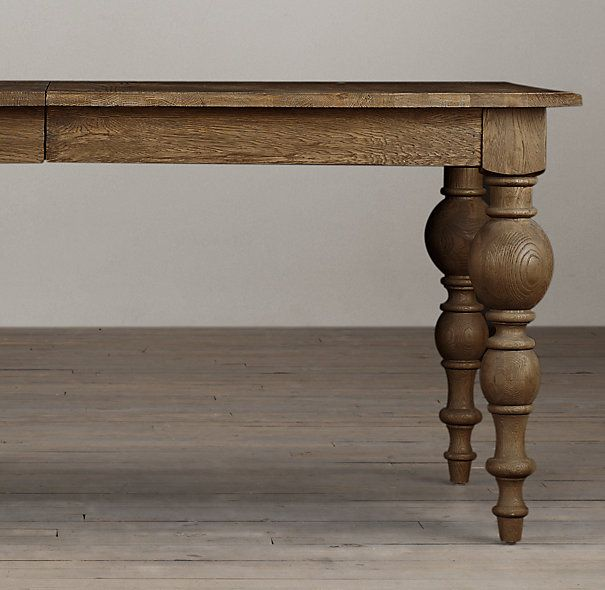 254 best images about Restoration Hardware on Pinterest  : 702a9e136bbc25b1c0c6f772071f71b3 rustic wood dining table oak table from www.pinterest.com size 605 x 590 jpeg 46kB