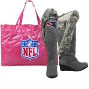 New England Patriot fashion boots <3 <3
