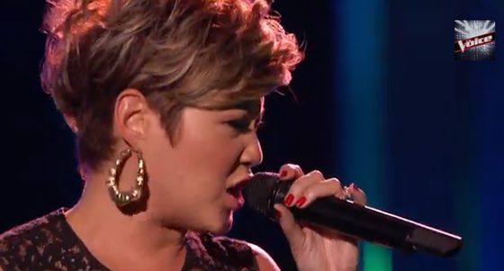 Tessanne Chin — Stronger — And Ashley DuBose — Soul Sister — The Voice 2013 - Small Screen Scoop