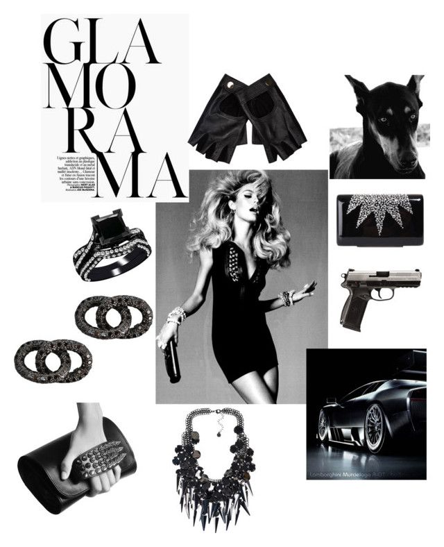BondGirl.007. by mastequilas on Polyvore featuring polyvore fashion style RK New York Wilbur & Gussie Pieces Carolina Bucci River Island clothing