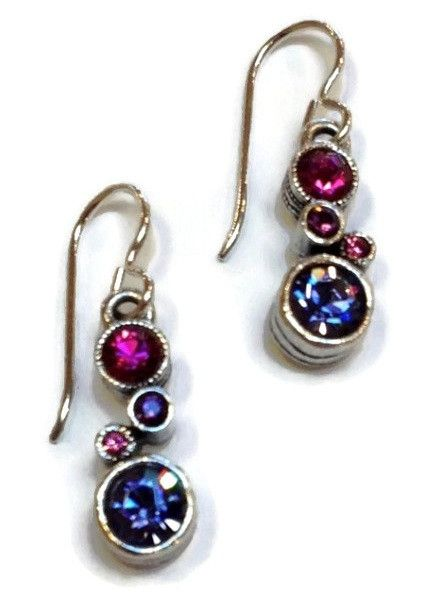 Patricia Locke Jewelry - Cassie Earrings in Passion