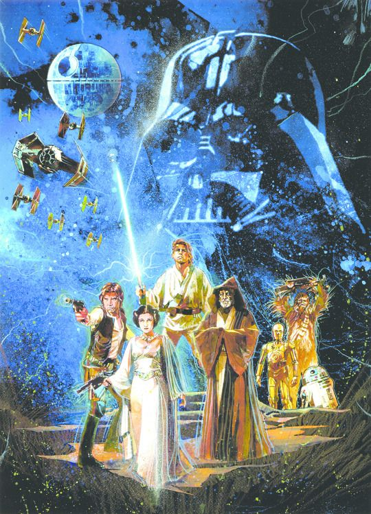 Star Wars by Mark McHaley