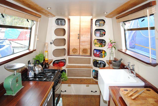 narrowboat design - Google Search