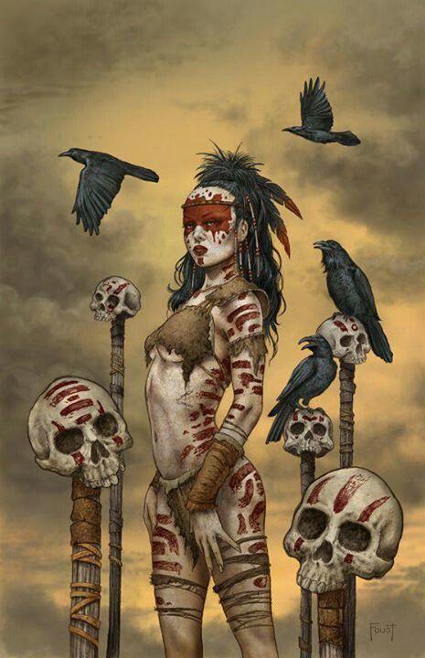 Dans la mythologie celtique irlandaise, Morrigan (Morrigane ou Morrigu) signifie « Grande Reine ». Héritière de la figure de l'Aurore indo-européenne, c'est une divinité complexe qui est à la fois la rivale et l'auxiliaire du héros par excellence Cúchulainn1. Déesse dite guerrière, elle n'est pas essentiellement une combattante, mais procède à la qualification des héros[Quoi ?]2. Détentrice des savoirs, elle est notamment sous la forme Bodb (la Corneille) l'annonciatrice des destins.