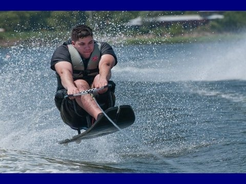 Adaptive water-skiing! Learn more about adaptive sports and Disabled Sports USA at www.dsusa.org