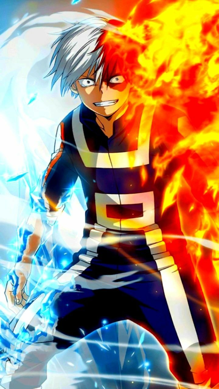 Anime Wallpaper Naruto Shippuden Todoroki Shoto Boku No Hero Academia Tododeku