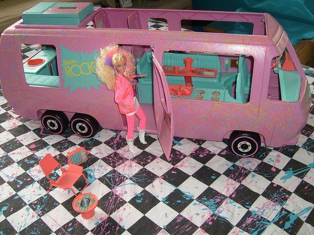 Barbies rocker van :)