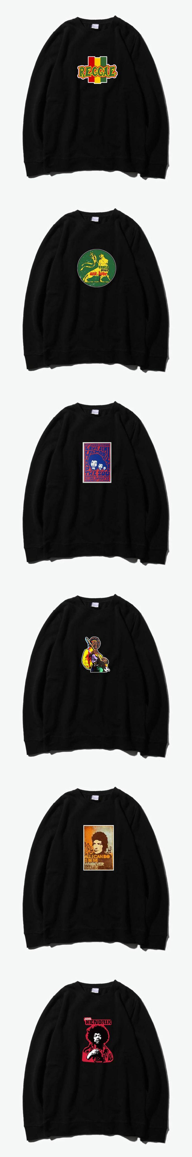 rasta lion from zion bob dylan jimi hendrix rock fashion sweatshirt hoodies