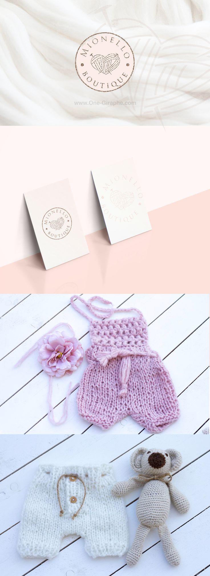 Brand Identity for Handmade Kids  Clothing #handmade #cloth #baby #kids #brandidetity #behance #etsy #designer #logo #cute #wool #logos #logodesign