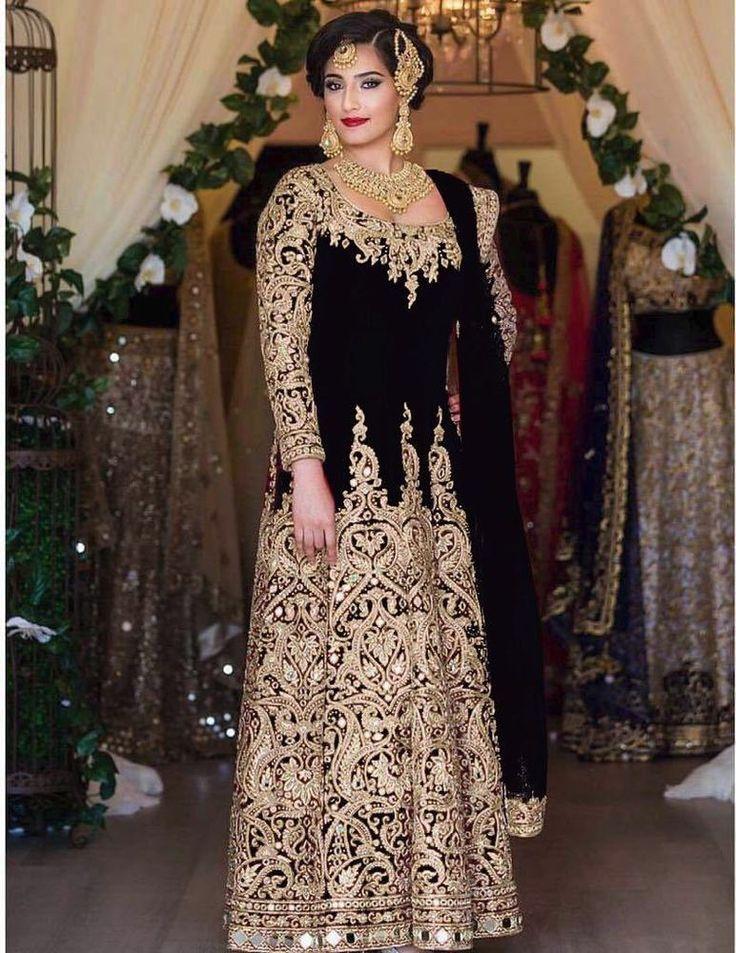 Indian Pakistani Ethnic eid clothe Designer Anarkali Lehenga Dress Suit P NDL.