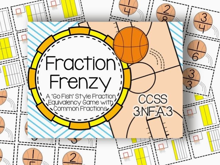 3rd Grade Math Game: Equivalent Fractions