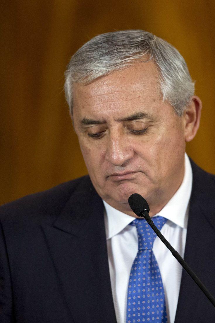 Guatemalan President Otto Perez Molina Resigns Amid Scandal