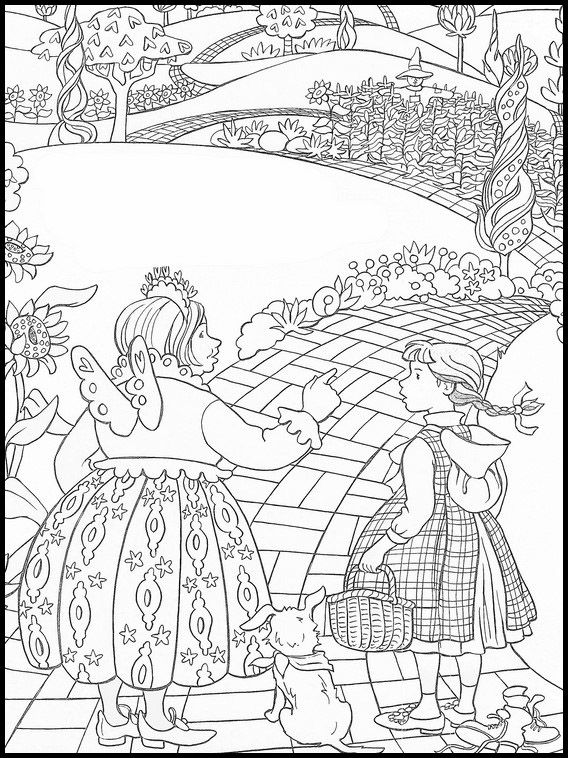 The Wizard Of Oz Coloring 29 Cool Coloring Pages Wizard Of Oz Color Coloring Pages
