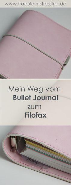 Vom Bullet Journal zum Filofax