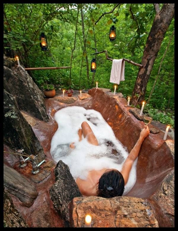 Going To The Bathroom In The Woods Awesome 40 Best Outdoor Showers Images On Pinterest  Outdoor Showers . Inspiration