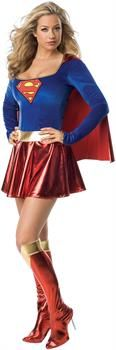 PartyBell.com - Supergirl Deluxe Adult Costume