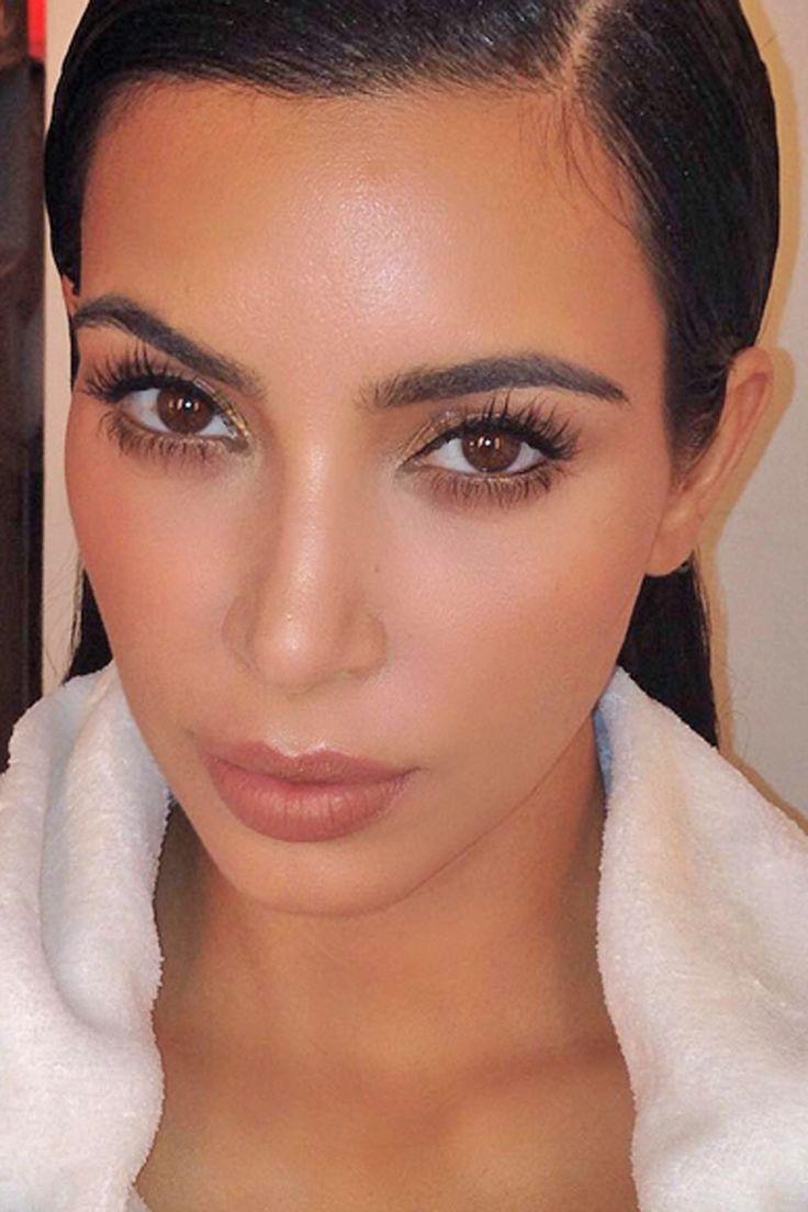 Woah. Kim Kardashian's 'new face' has caused *total* chaos on Instagram...