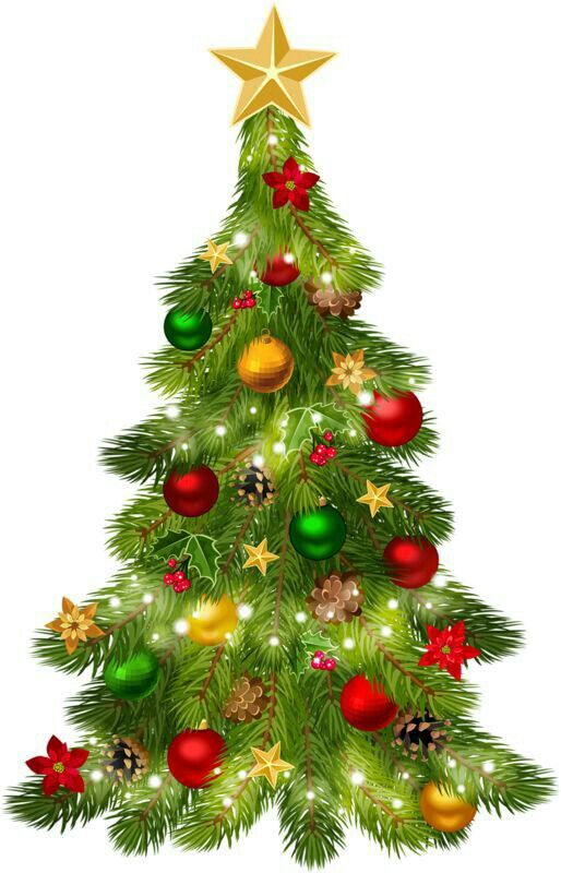 Christmas Tree Pictures Clip Art