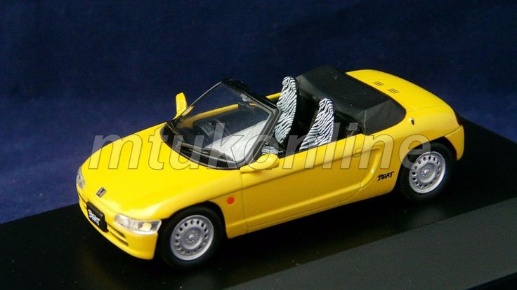KYOSHO 2007 | HONDA BEAT 1991 | 1/43 | J-COLLECTION LIMITED EDITION 1,008PCS