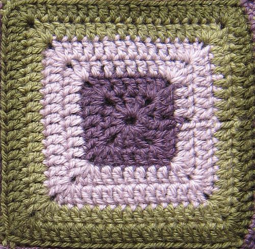 First Principles:  The Humble Crochet Square