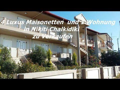 4 Luxus Maisonetten  und eine Wohnung in Nikiti Chalkidiki