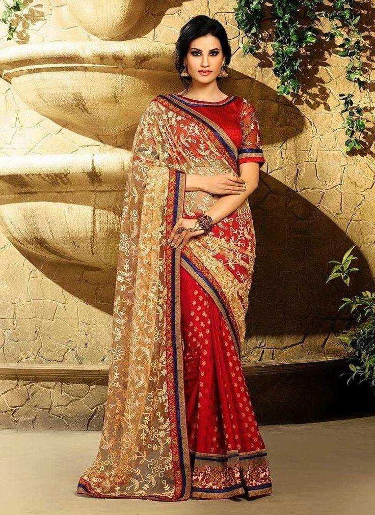 Designers wear Chiffon Sarees, Embroided Georgette Sarees and Lehenga Sarees
