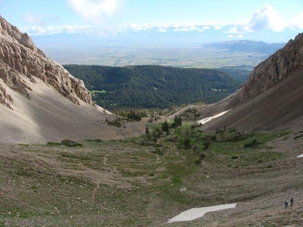 Blog - Sacagawea Hike - View to West