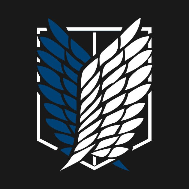 Attack on Titan Scouting Legion Survey Corps car decal sticker
