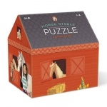 Crocodile creek House Shaped Puzzle Horse Stable