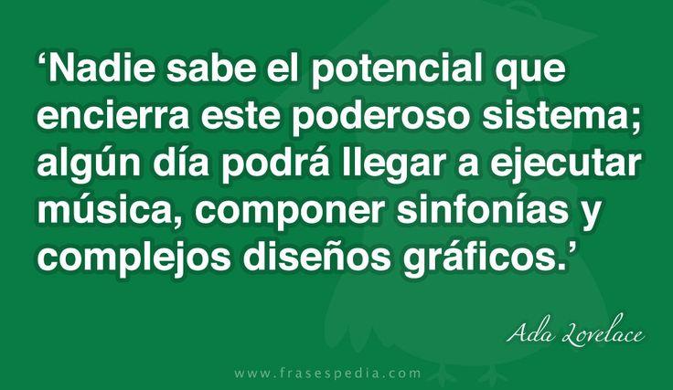Frases de informática de Ada Lovelace