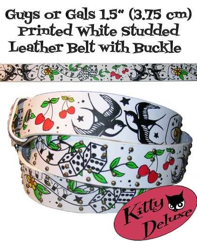 Printed belt from Kitty Deluxe $11.00