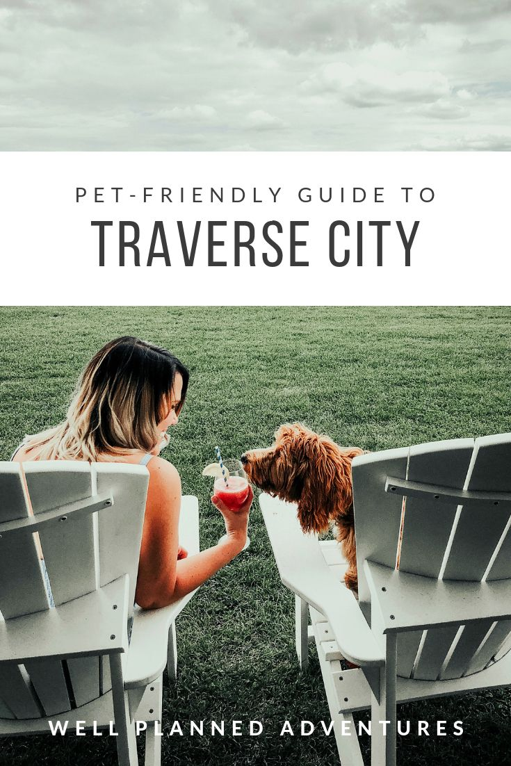 A Guide To All The Pet Friendly Wineries Restaurants And Attractions In Traverse City Michigan And Sleeping B Traverse City Sleeping Bear Dunes Michigan Fun