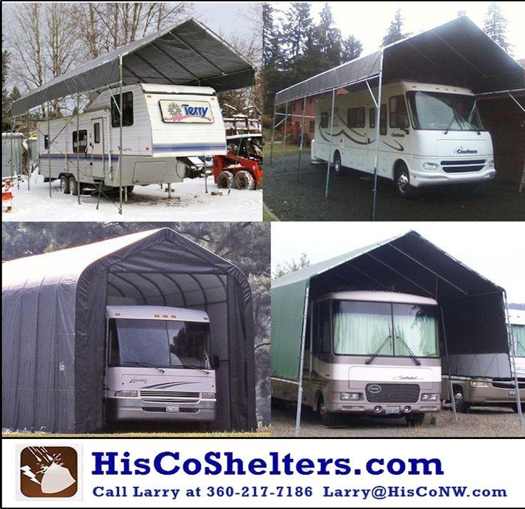 Best 25 rv shelter ideas on pinterest porch shelter for Boat garage kits