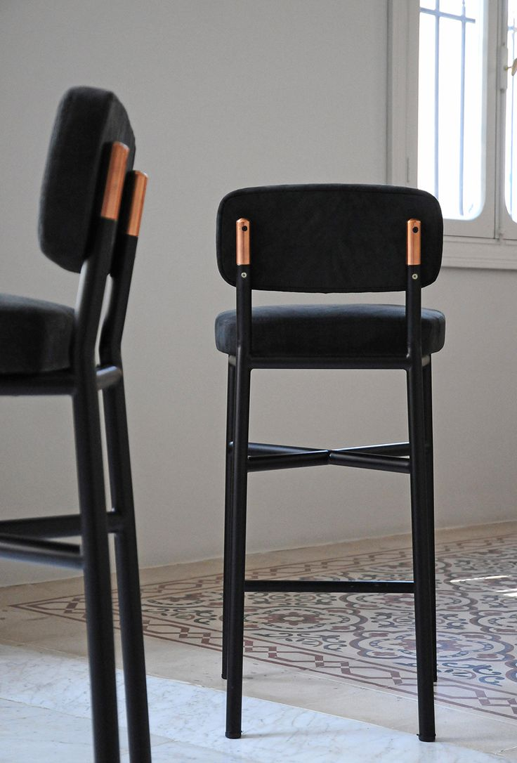 david/nicolas. Black Bar StoolsCopper ... & Best 25+ Black bar stools ideas on Pinterest | Black quartz ... islam-shia.org
