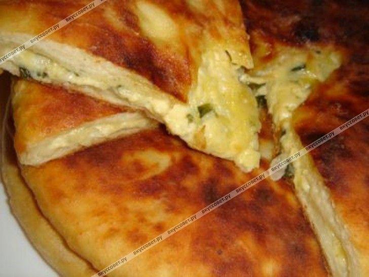 Осетинский пирог с кабачком пошаговый рецепт с фото