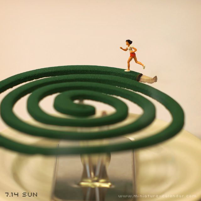 """Time limit"" http://miniature-calendar.com/130714/"