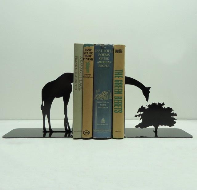 Giraffe bookends: Idea, Giraffes Books, Metalart, Metals Art, Creek Metals, Metal Art, Products, Giraffes Bookends, Knobs Creek