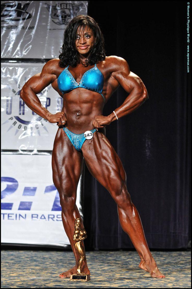 Female Bodybuilder Monique Jones - 2010 Ifbb North -9431