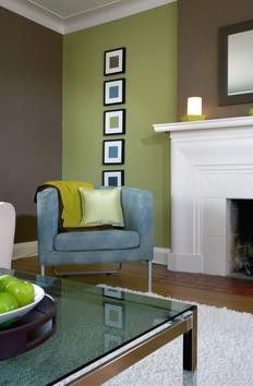 Living Room Colors by Paula Renee Lindsey- could totally do this, with different colours