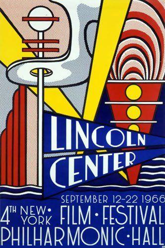 1966, Roy Lichtenstein : Das vierte New Yorker Film Festival