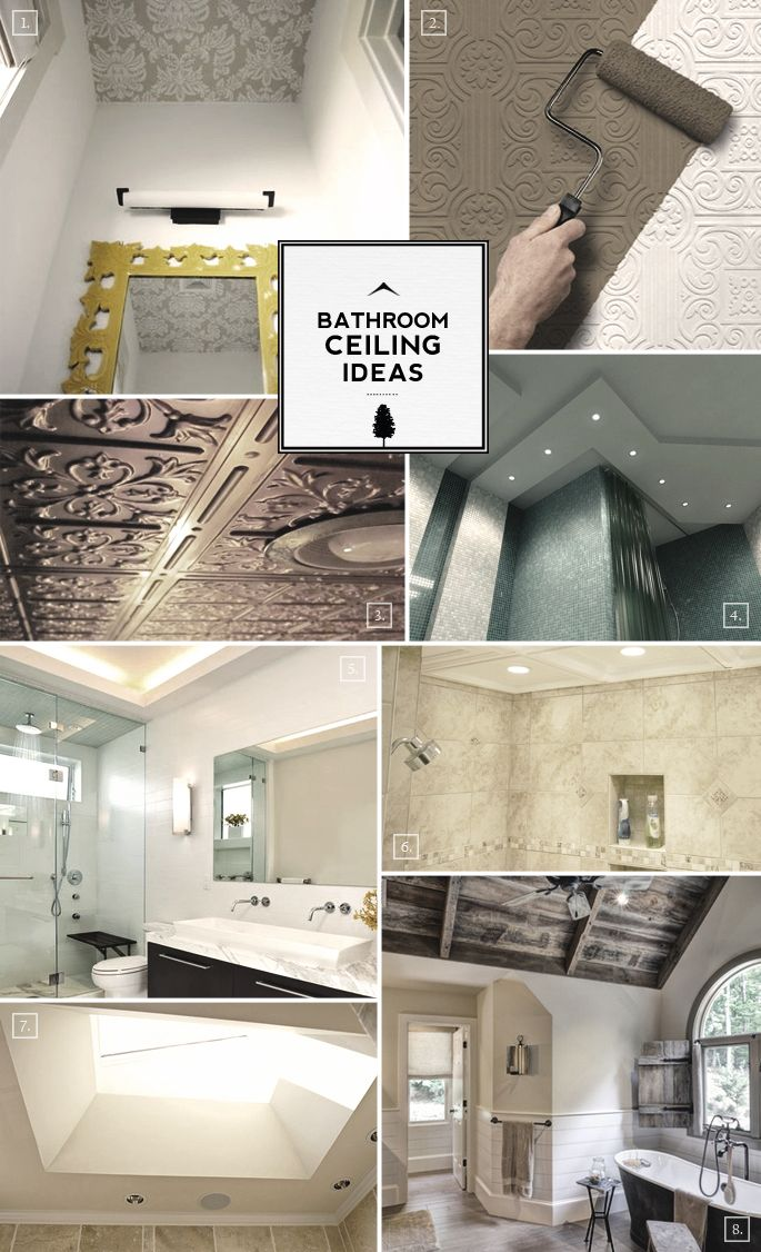 Best 25 Bathroom Ceilings Ideas On Pinterest  Beadboard In Interesting Ceiling Designs For Bathroom Decorating Design