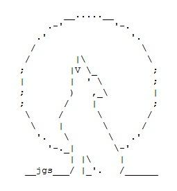 Wolf and Werewolf ASCII Art                                                                                                                                                                                 Mais