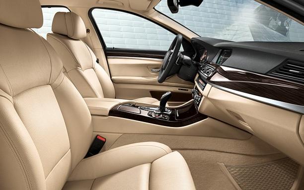 BMW 5 Series Sedan Interior