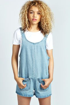 Lola Loose Fit Pocket Front Dungarees