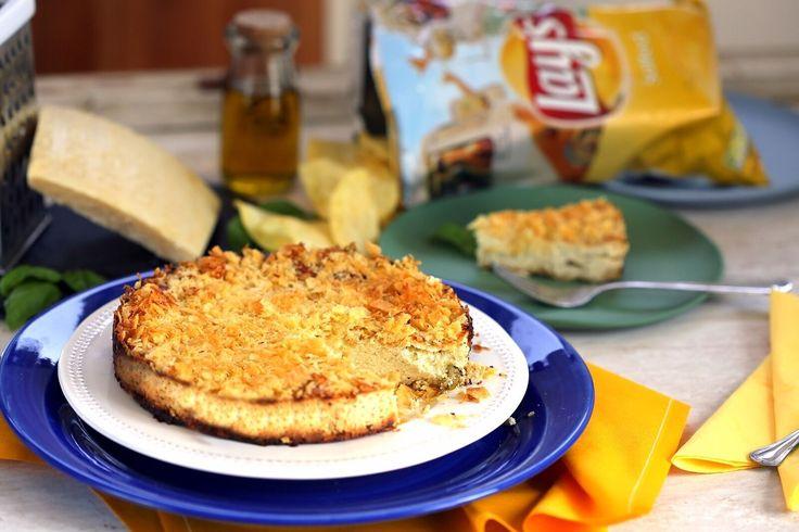 Chipses bazsalikomos sajttorta • Fördős Zé Magazin