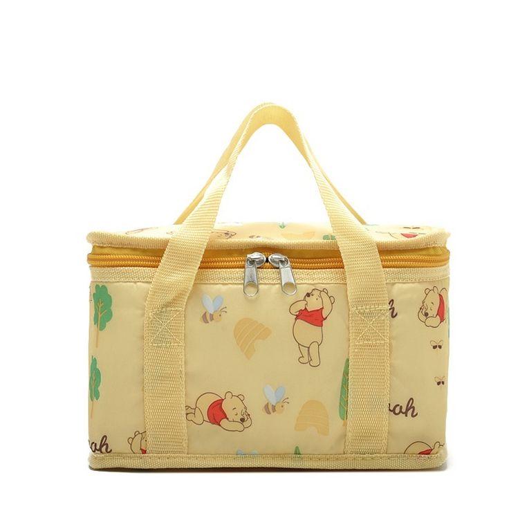 Barato Frete grátis caixa de sacos térmicos saco de Nylon amarelo, Rosa bolsas…