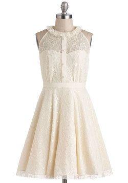 Resplendent Rime Dress, #ModCloth